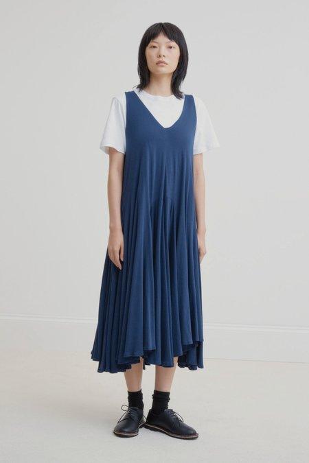 Kowtow Volume Dress - Navy