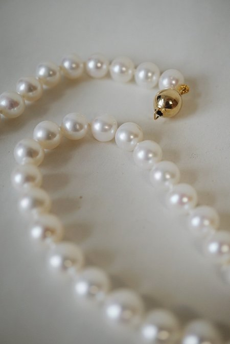Foe and dear Pearl Necklace