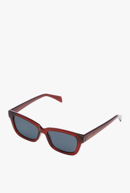 Unisex KOMONO Rocco Sunglasses - Burgundy
