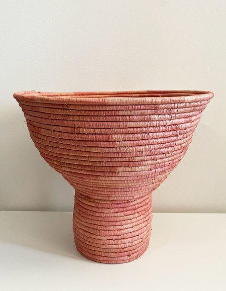 Kazi Large African Pedestal Bowl