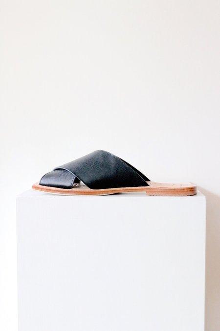 James Smith Poseidon Slide - Black/Natural