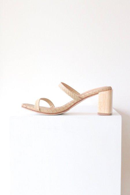 James Smith Sirenuse Sandal - Crema