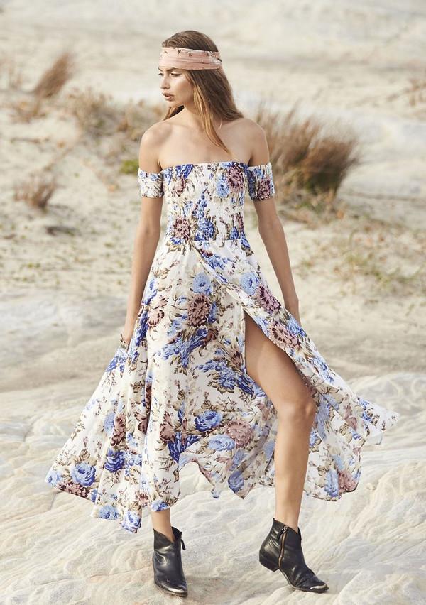 e4753b198149 Auguste Boheme Goddess Maxi Dress