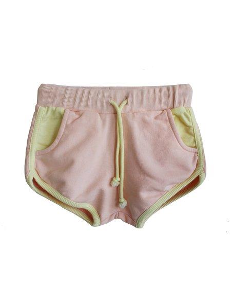 kids Bandy Button Eta Shorts - Pink