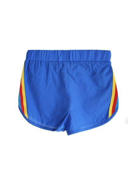 kids Bandy Button Skan Shorts - blue