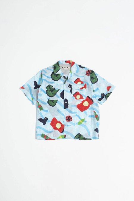 Marni Printed shirt - blue
