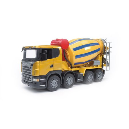 kids Bruder Toys Scania R- Series Cement Mixer Truck
