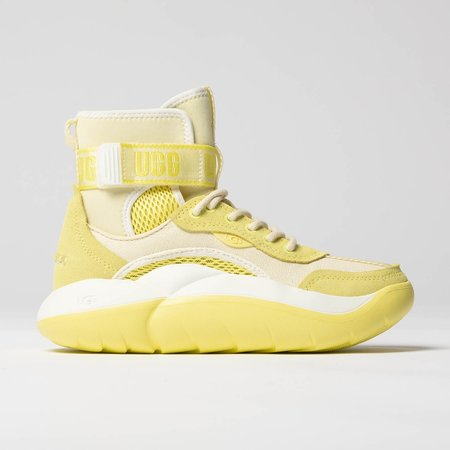 UGG LA Cloud Hi Sneaker - Margarita | White | Sea Salt