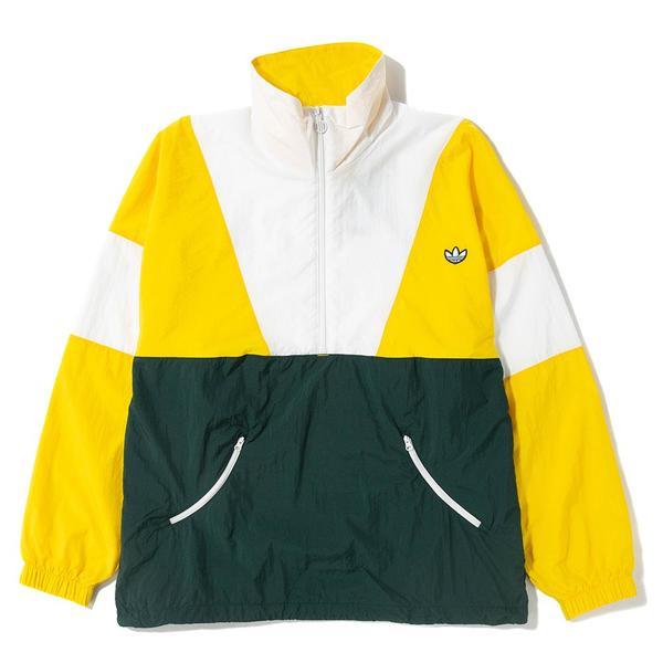 adidas originals jacket yellow