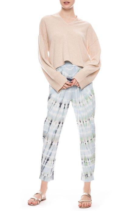 Raquel Allegra Easy Pant - Minty Tie Dye