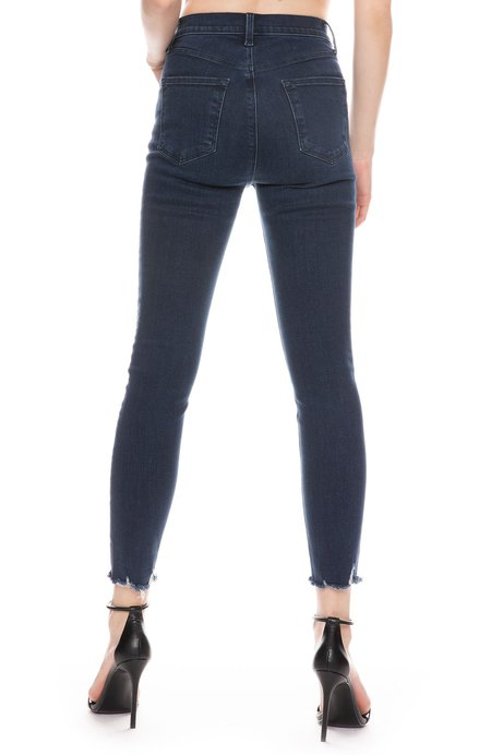 J Brand Lillie High-Rise Cropped Skinny Jean - Egotism