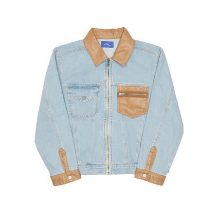 RASSVET (PACCBET) denim jacket - Light wash