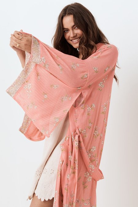 SPELL & THE GYPSY COLLECTIVE Hendrix Robe - Dusty Pink