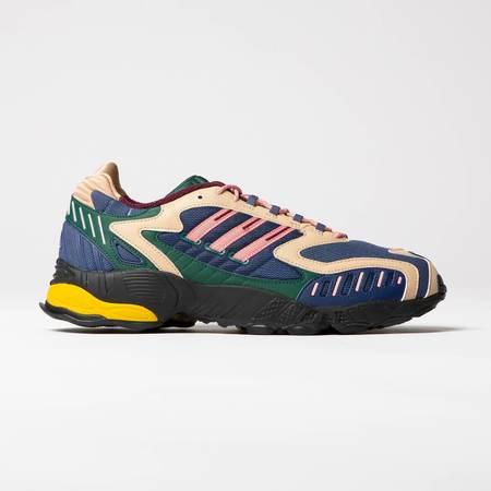 Adidas Torsion TRDC Sneaker- Tech Indigo | Glory Pink | Collegiate Green