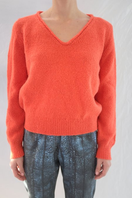 Beklina V Neck Sweater - Fruit
