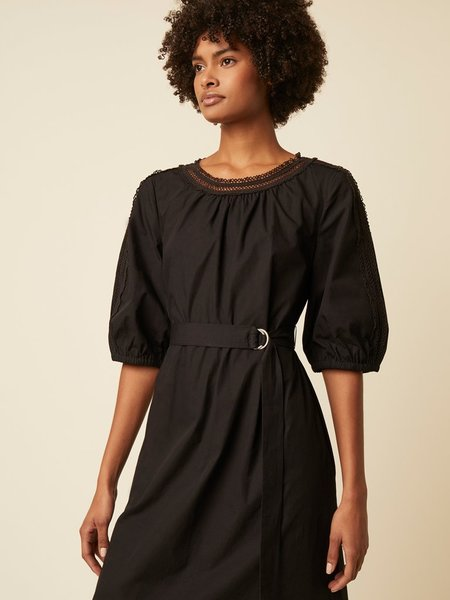 Great Plains Iva Cotton Dress - Black