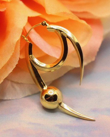 Austin James Smith Baby Claw Earring - Gold