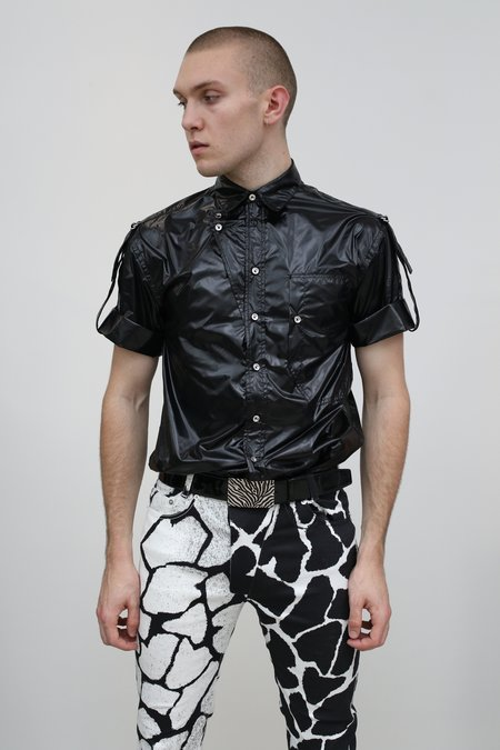 Nomenklatura Studio Chintzed Nylon Uniform Shirt