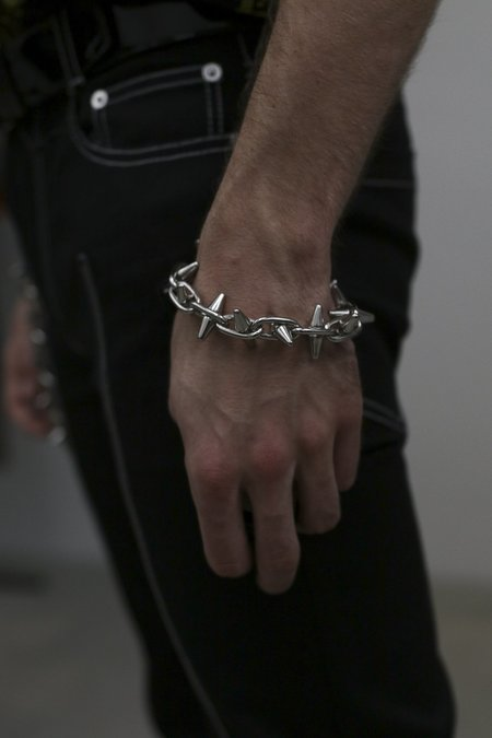 Nomenklatura Studio Spike Chain Bracelet