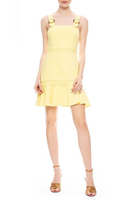 Jonathan Simkhai Clara Crepe Mini Dress - LIMONCELLO