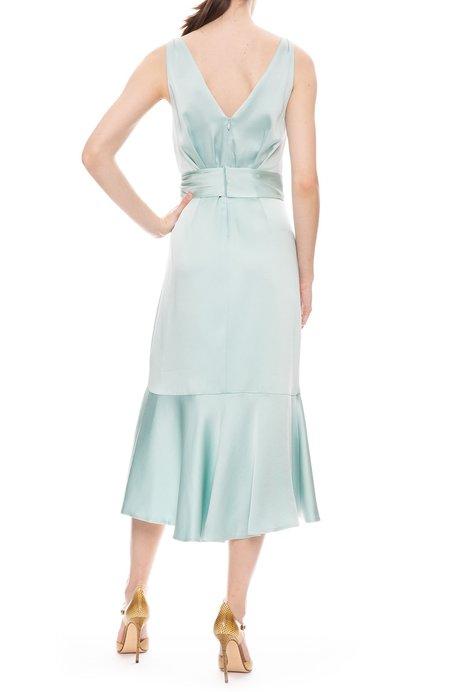 Jonathan Simkhai Mia Fluid Satin Dress - SEAFOAM