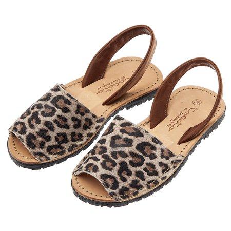 Kids Tocotó Vintage Sandals - Animal Print