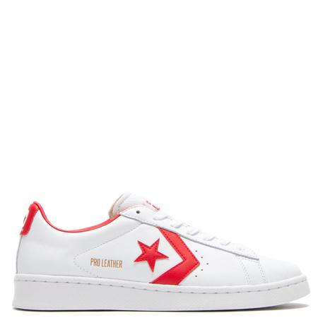 Converse Pro Leather Ox OG Sneakers - White/University Red