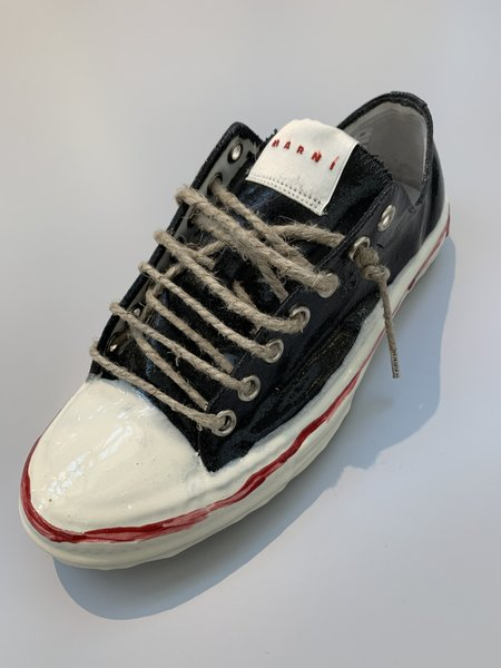 Marni Ceramic Hand Painted Low Top Sneaker
