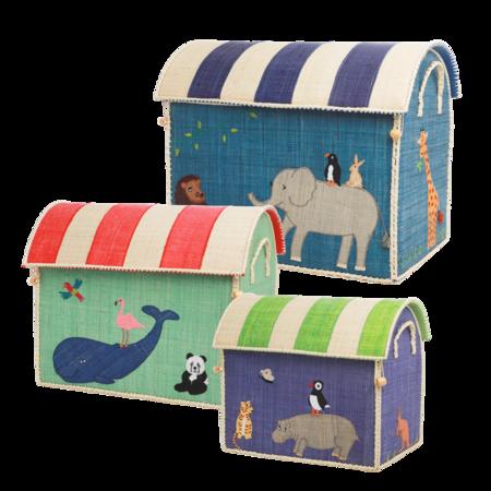 kids Rice Animal Design Small Toy Basket