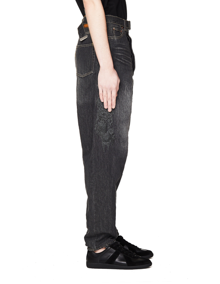Doublet Grey Embroidered Jeans