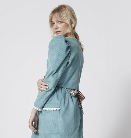 Rightful Owner Carmella Suit Jacket - Blue