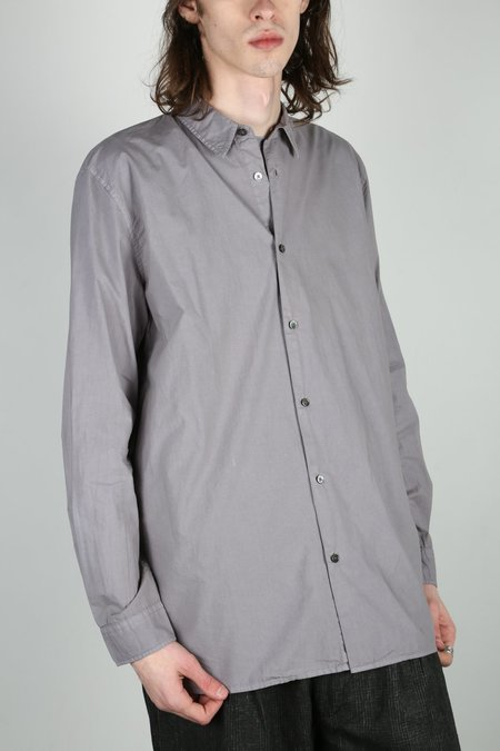 Robert Geller THE DYED DRESS SHIRT - Grey