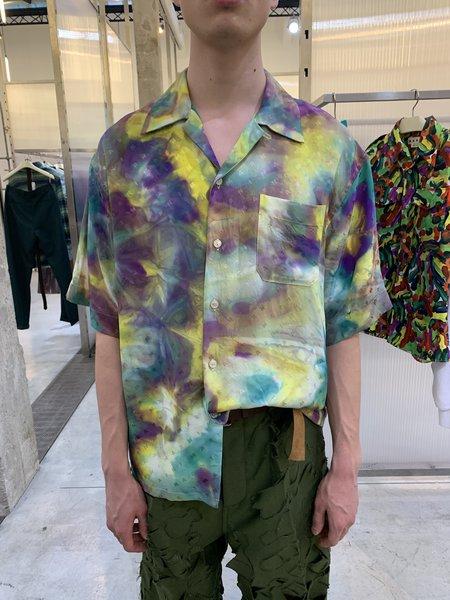 Marni Viscose Jacquard Shirt - Tie-Dye
