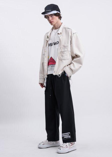 Mihara Yasuhiro Password Printed T Shirt - white