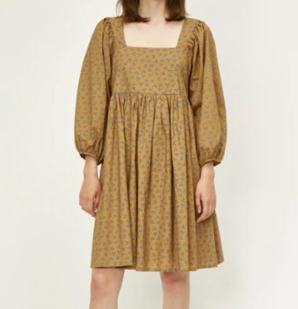 Just Female Merle Dress - Snowdrop Khaki