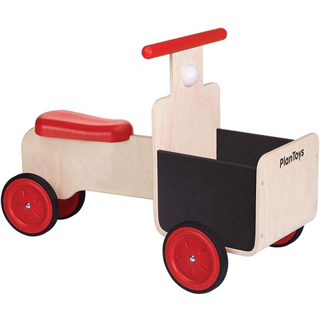 kids Plan Toys Wooden Delivery Bike