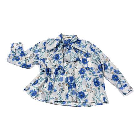 Caron Callahan Daisy Shirt - White Peony