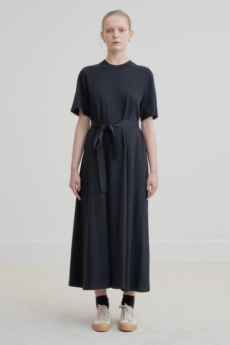 Kowtow Tee Shirt Swing Dress - Black