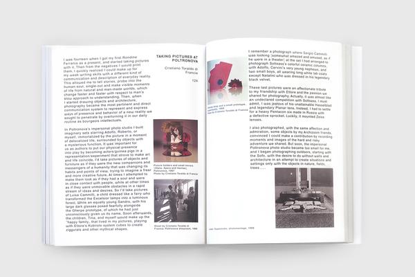 POLTRONOVA BACKSTAGE: ARCHIZOOM, SOTTSASS and SUPERSTUDIO THE RADICAL ERA 1962 - 1972