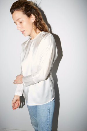 Datura Esther Top - Ivory