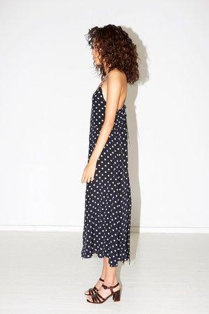 Datura Slip Dress - Polka