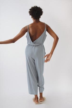 Soft Focus Jumpsuit - Pale Denim