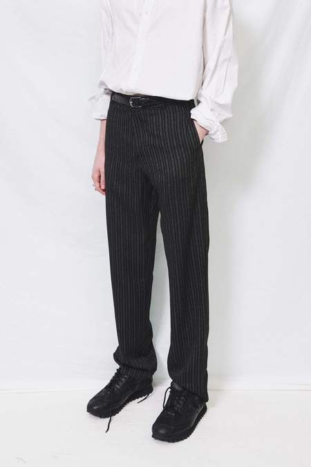 Assembly Flat Front Pant - Dot Stripe