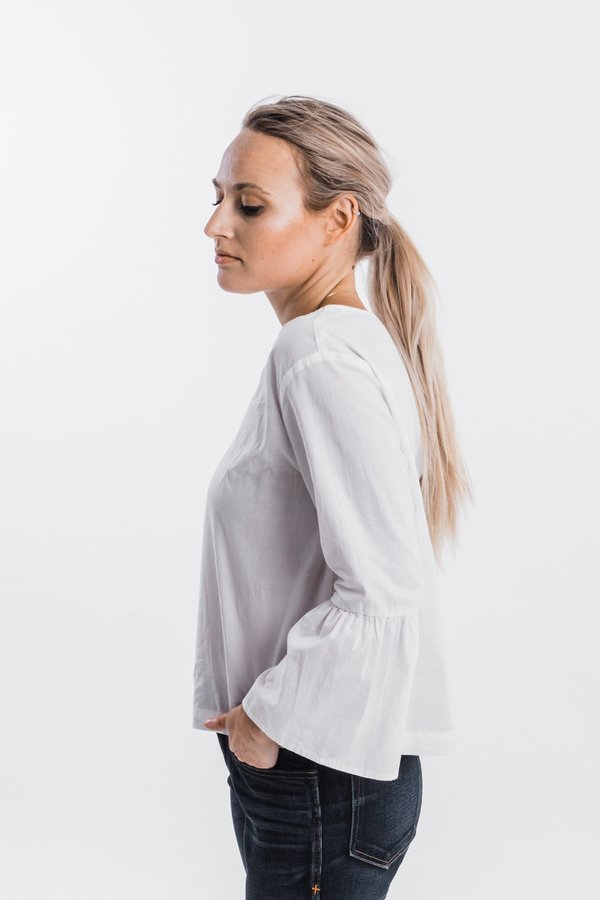 It Is Well L.A. Bell Sleeve Blouse