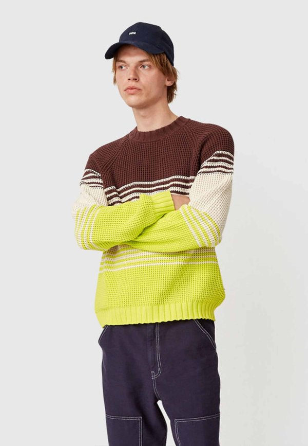 Wood Wood Gunther Sweater - multi stripes