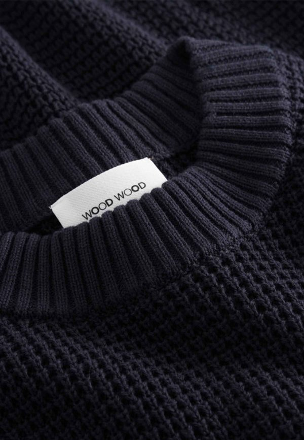 Wood Wood Kevin Sweater - navy