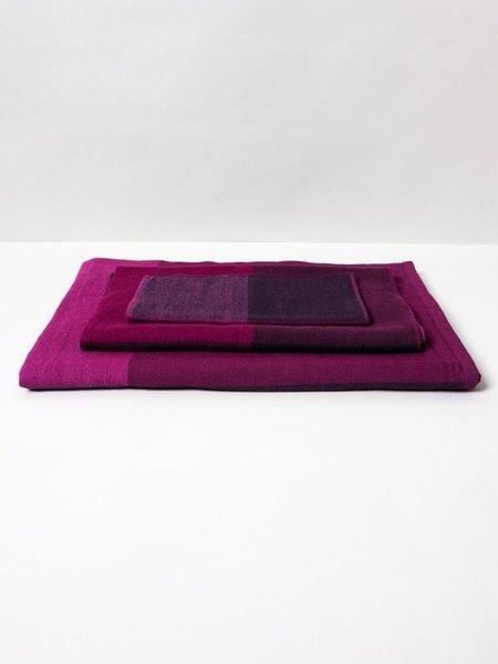 Morihata Mint Chambray Block Towel