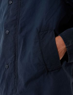 Barbour x Engineered Garments Washed Graham Casual Jacket - Navy Blue