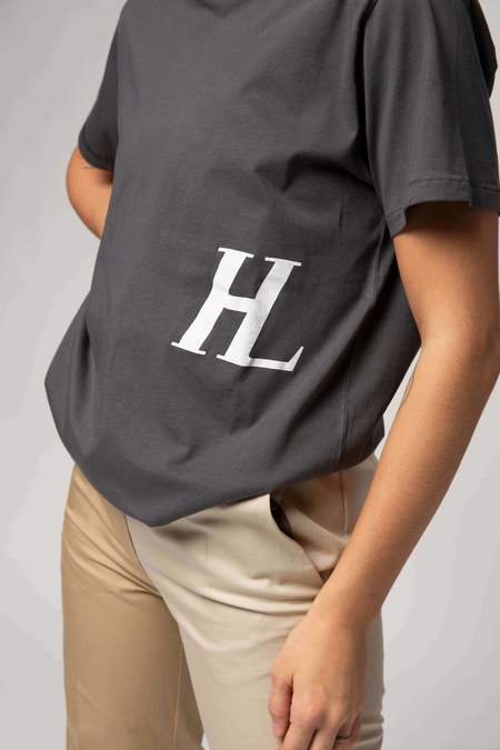 Helmut Lang Standard Monogram T-Shirt - Pewter