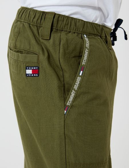Tommy Hilfiger Pieced Ripstop Jog Pant - Cypress Green